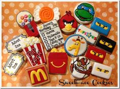 Incredible cookies from Sweet Face Cookie Boutique!