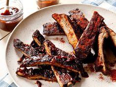 Food Network Chefs' Best BBQ Rib Recipes #GrillingCentral