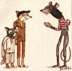 Image result for fantastic mr fox rat