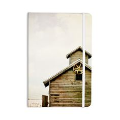 """Angie Turner """"Barn Top"""" Wooden Everything Notebook"""