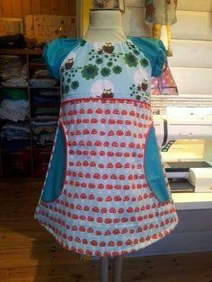 Epleslang kjole