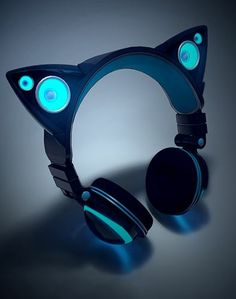 Axent Wear Headphone Speakers... Kitty ear headphones!!! MUST HAVE!!!!