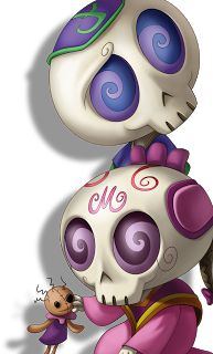 "The sugar skull children from ""La Leyenda de Llorona""...they're so cute!"