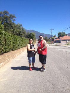 Afternoon walk with Matt