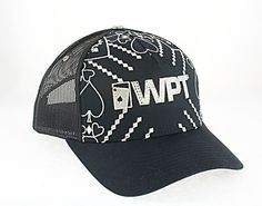 $5.00 World Poker Tour. Black - Silver embroidery. At Liquidationprice.com