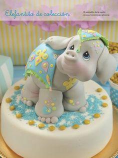 Elefante - Porcelana Fría