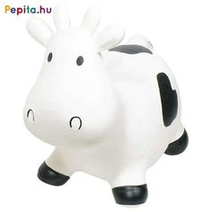 Toys Pure Hopper Ball Cow by Toys Pure. Shops, Bodo, Bouncers, Piggy Bank, Pure Products, Black And White, Latex Free, Detail, Babies