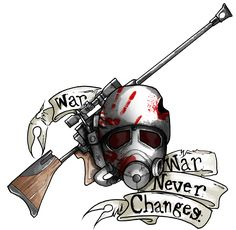 Fallout Ranger Tattoo - Available as a design for T-Shirts, Jackets, Stickers, Phone Cases, and Fallout Tattoo, Fallout Meme, Fallout Fan Art, Fallout New Vegas, Fallout Quotes, Fallout Weapons, Vegas Tattoo, Video Game Art, Video Games