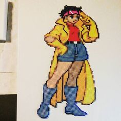 Jubilee X- Men perler beads by Sulley45635