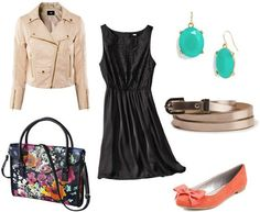 How to wear a LBD (little black dress) to class