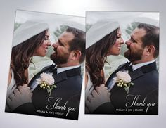 Thank You Cards & Matching Pearlescent Envelopes  Postcard