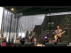 Sam Roberts Band in Banff's outdoor Performance In The Park concert, June 2012 Banff, Front Row, Bliss, Singing, June, Rain, Concert, Videos, Youtube