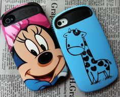 Hot iFace Cartoon Protective Case Skin Cover for iPhone 4/4S/5 - iPhone 4/4S Cases