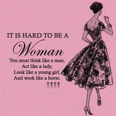 With the support of other women it becomes all easy.