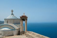 Astonishing views from Greece: Photo Karpathos, Go Greek, Greece Travel, Island Life, Homeland, Taj Mahal, Building, Places, Beautiful