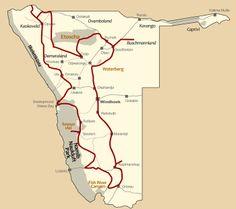Namibia Safari Höhepunkte + Kaoko + Buschmannland