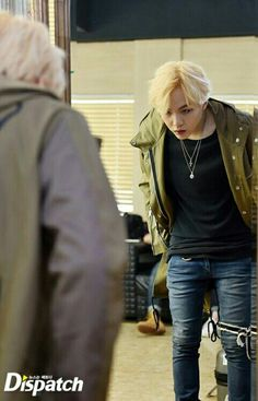 I think this is from the same day he was shooting the video for 'AGUST D.' He looks so good. Oppa