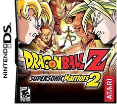 DragonBall Z Supersonic Warriors 2 - Nintendo DS
