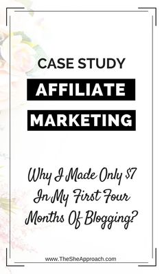 My attempt at affiliate marketing failed big time in the first months of blogging. I analyze what I did wrong and what I learn and how I began to earn passive income blogging by using these affiliate marketing strategies. Blogging tips for new bloggers. B