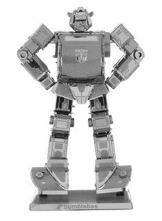 Metal Earth 3D Laser Cut Model Transformers Bumblebee