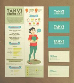 Looking for a graphic design job? Check out these 25 examples of creative resumes