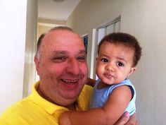 Diário do Felipinho: Com vovô