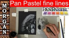Pan pastel - How to do Thin Lines - Jason Morgan wildlife art