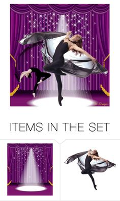 """""""Dancing Every Night"""" by deborah-strozier ❤ liked on Polyvore featuring art and modern"""