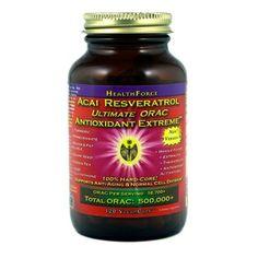 Natures Happiness - HealthForce Acai Resveratrol Antioxidant Extreme, $30.99 (http://www.natureshappiness.com/healthforce-acai-resveratrol-antioxidant-extreme/)