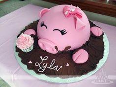 Cake Wrecks - Home - Sunday Sweets Celebrates Mother Goose Day! Piggy Cake, Pig Birthday Cakes, Birthday Ideas, Farm Cake, Animal Cakes, Cake Wrecks, Novelty Cakes, Cute Cakes, Creative Cakes