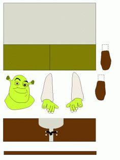 wc rol Shrek more hand or foot prints