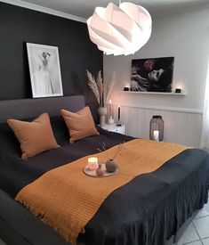 35 Warm and Romantic Bedroom Decoration These trendy Bedroom ideas would gain you amazing compliments. Check out our gallery for more ideas these are trendy this year. Romantic Bedroom Decor, Stylish Bedroom, Warm Bedroom, Pretty Bedroom, Scandinavian Style Home, Budget Home Decorating, Decorating Ideas, Home Improvement Loans, Soho House
