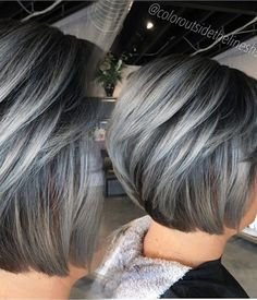 1558 best Gorgeous gray hair images on Pinterest | Silver hair, Gray ...