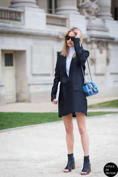 Paris Fashion Week FW 2015 Street Style: Pernille Teisbaek