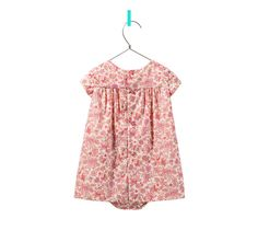 sweet floral baby girls dress from zara