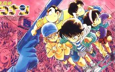 Detective Boys - Assassination case at the stadium Manga Detective Conan, Kaito Kid, Gosho Aoyama, Detektif Conan, Kudo Shinichi, Kaichou Wa Maid Sama, Magic Kaito, Case Closed, Tokyo Ghoul