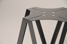 The Quasi stool utilizes CNC technologies to achieve a precise tolerance ensuring consistent quality throughout its components. QUASi strikes the perfect balance of incorporating both organic and synthetic shapes. Constructed from laser cut mild steel with a powder coated finish, the durable nature of this piece suites a diverse range of both interior and exterior settings. This design stands 450h x 350d x350w and therefore suites dining tables at 750 high.