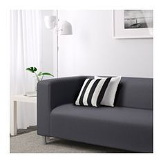 I have this loveseat with two covers, this is the 1st  KLIPPAN Loveseat, Vissle gray - Vissle gray - IKEA