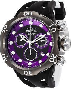 Invicta  Hombre 16995 Venom Reloj Acero inoxidable Negro
