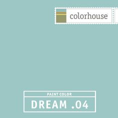 Colorhouse DREAM .04:  Retro and modern. Like a piece beach glass. Float away in your dreams. Use in bed & baths, kitchens.