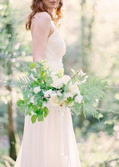 textural greens and