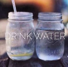 Drink water! #hydrate