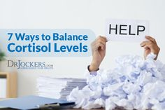Too much cortisol is a bad thing. Learn how to balance cortisol levels so you can overcome stress and grow stronger as a result. Low Cortisol Levels, High Cortisol, Improve Communication Skills, Estrogen Dominance, Health Anxiety, Chronic Stress, Body Hacks, Adrenal Fatigue, Hormone Imbalance