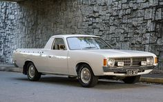 Learn more about Little Hemi: 1975 Chrysler Valiant VJ Ute in the US on Bring a Trailer, the home of the best vintage and classic cars online. Australian Ute, Big Girl Toys, Girls Toys, Chrysler Valiant, Aussie Muscle Cars, Chrysler New Yorker, Flower Car, Van Car, Chrysler Cars