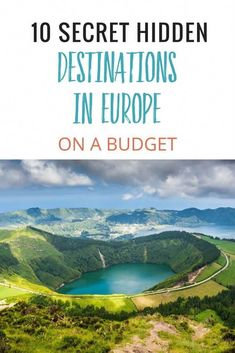 Europe Travel on a Budget. Ready to travel to Europe? These 10 secret hidden destinations in Europe on a budget will make you happy. We're talking accommodation less than a night. Destinations in Spain, Greece, Austria, Portugal and Estonia that are aw Europe Destinations, Europe Travel Tips, European Travel, Budget Travel, Backpacking Europe, Traveling Europe, Travel Deals, Travel Packing, Europe Packing