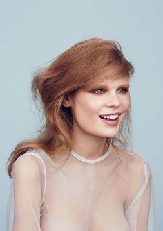 Alexandra Elizabeth for Vogue Japan October 2015 | The Fashionography
