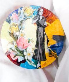 Decoupaged Decorative Gift Box Inspired By by GardenofPleasantries, $10.99