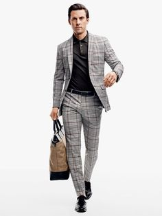 Milo Ventimiglia wearing a $230 Zara suit. See the full feature.