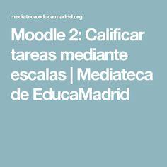 Moodle 2: Calificar tareas mediante escalas | Mediateca de EducaMadrid