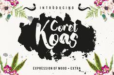 Coret Kaos Brush Script Font